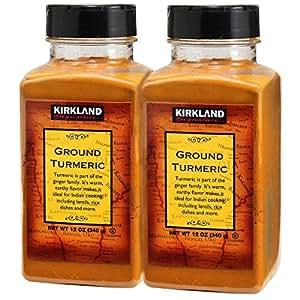 Kirkland Signature 纯姜黄粉, 2瓶,共680克