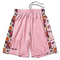 SPALDING 斯伯丁 男士 女士 篮球 练习裤 Tarty 花朵 鳕鱼粉色 SMP200530 6800