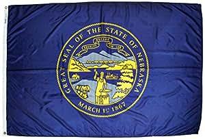 内布拉斯加州旗帜 4x6' 143270