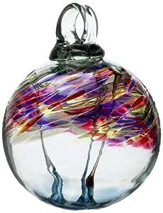 Kitras 3 英寸(约 7.62 厘米)香薰羽毛玻璃装饰品