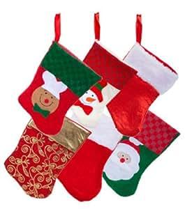 6 双:Christmas House 迷你丝袜 12 件装 6 双装 1