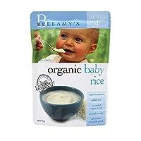 Bellamy's贝拉米 婴幼儿有机米粉米糊 125g 三袋价 (4+ 四个月 口味随机发)