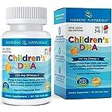 Nordic Naturals 儿童 DHA 草莓 - 儿童鱼油补充剂,*认知*和*功能* 90 90