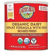 Earth's Best 含铁婴儿配方奶粉 23.2盎司