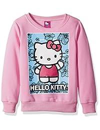 Hello Kitty 女童运动衫,亮片蕾丝细节