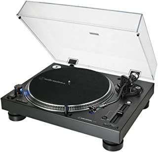 Audio-Technica 铁三角 AT-LP140XP 专业直接驱动手动转盘-黑色