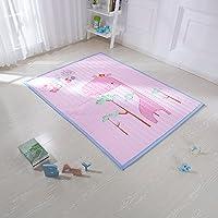 婴蓓 环保宝宝爬行垫加厚儿童婴儿地垫客厅爬爬垫家用 (粉色)