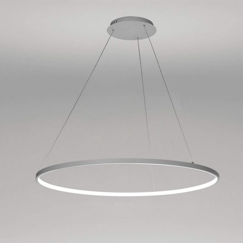 LightInTheBox 圆形吊灯,1 个环形吊灯涂漆照明灯具,适用于餐厅、客厅、游戏室、儿童房