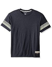 CHAMPION 男式正品 Originals 三混纺短袖学院风 T 恤