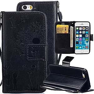 abtory iphone 6plus 5.5对开式套翻转盖适用于 iPhone 6Plus  [ 信用卡插槽 ] [ 支架 ] [ 翻盖 PU ] 皮夹式保护套适用于 iPhone 6Plus 14cm 6 Plus-04