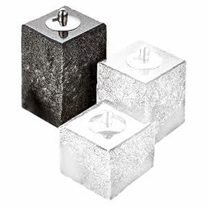 NVA Creative Garden Granite Fire Stone 带抛光顶端 8-Inch 灰色 5025020