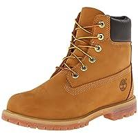 Timberland 添柏岚 女式 6 英寸优质靴 Wheat Nubuck 6 M US