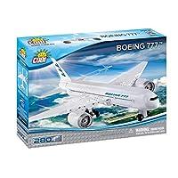 Tangle Teezer 26261 Boeing-777 (260 片) 波音飞机玩具, 白色