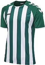 Hummel 團隊球衣,透氣 - CORE 條紋運動衫 - 男士條紋訓練衫 - 運動短袖 T 恤 - 運動服 不同顏色可選