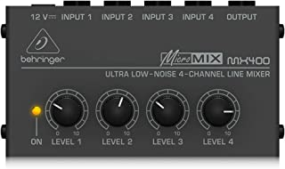 Behringer Micro Mix MX 400 4 - 通道 Line - 搅拌器