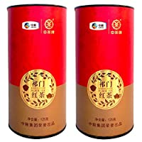 中茶 安徽徽茶 祁门红茶 圆铁罐装 工夫红茶 伴手礼125g*2