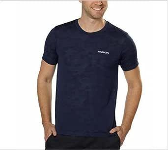 Karbon 男式吸湿排汗快干 T 恤(L 码,*蓝)