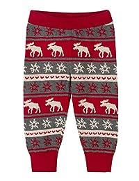 Hatley Hatley 针织打底裤、麝香和雪花结晶 红色 F18FII1348 红色 60~70cm、3M-6M(58-69cm)