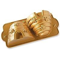 Nordic Ware 54577 Beehive 蛋糕锅,一件,金色