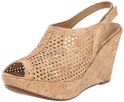 VANELi 女士 Emmalee 828291 坡跟凉鞋 天然软木 11 M US