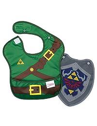 Bumkins Nintendo Super Bib with Cape, Zelda, 6-24 months