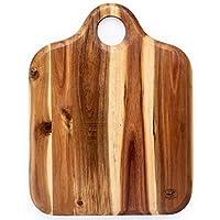 Superior Trading Co. Acacia 木质砧板带木质手柄。 FDA 批准。 35.56 x 35.56 cm。