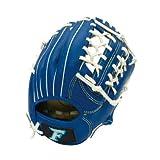樱花贸易(SAKURAI) FALCON 猎鹰棒球手套 软式少年 全场用 Jr-S尺码 蓝色 FG-1222