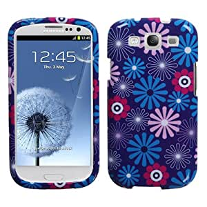MYBAT SAMSIIIHPCIM968NP Compact and Durable Protective Cover for Samsung Galaxy S3-1 Pack - Retail Packaging - Flower Fireworks
