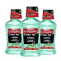 Colgate 高露洁 竹炭薄荷 漱口水 500ml×3(0酒精)