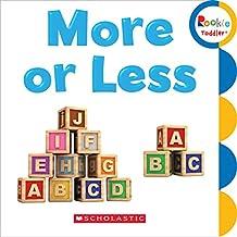 (进口原版) 学乐 幼儿ABC More or Less