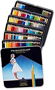 Prismacolor 優質鉛筆,彩色鉛筆,132支盒裝,多種顏色