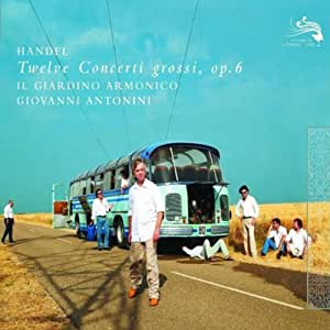 进口CD:韩德尔:12首大协奏曲(3CD)(4780319)