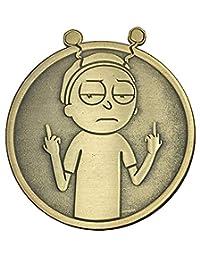 世界中的金和平:Morty - 可收藏别针