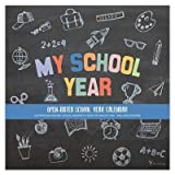 Calendars TF Publishing 多色敞开日期学年