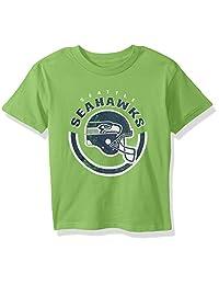 NFL by Outerstuff NFL 儿童和青年男孩加农球短袖 T 恤