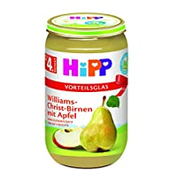 Hipp喜宝Williams-Christ梨 苹果泥,6罐装(6 x 250 克)