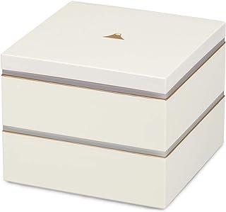 CtoC JAPAN Select 盆子 白色 150×150×120mm 富士山 双层 带密封盖 CTC-126518