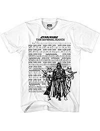 Star Wars Men's March Sheet Short Sleeve T-Shirt
