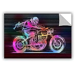 "ArtWall Greg Simanson's Moto IV Art Appeelz Removable Graphic Wall Art, 16 x 24"""