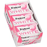 Trident White Sugar Free Gum (Minty Bubble, 16-Piece, 9-Pack)