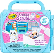 Crayola 绘儿乐 Scribble Scrubbie 宠物玩具涂色套装 儿童家庭活动 儿童礼品