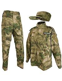SHENKEL 迷彩服上下 巡逻帽套装 M A-TACS FG bdu-fg01-M