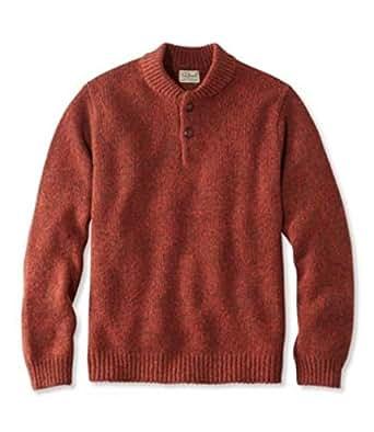 L.L.Bean男羊毛衫长袖套头舒适保暖简约休闲TK285174 Hickory M