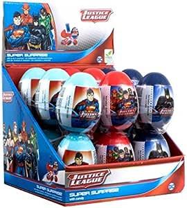 BIP Justice League Super Surprise Eggs, 18-Piece