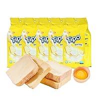 Tipo 牛奶味奶蛋酥脆面包干135g*5(越南进口)(亚马逊自营商品, 由供应商配送)