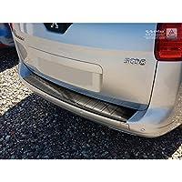 汽车风格 2/45085 不锈钢后保险杠保护膜 5008 2009-2016 '罗纹',黑色