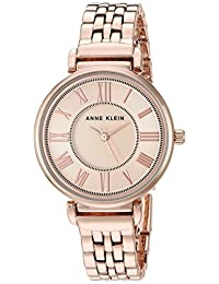 Anne Klein 女士手鏈手表,玫瑰金