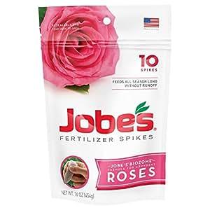 Jobe's 4102 Rose Outdoor Fertilizer Food Spikes, 10-Pack 1 包
