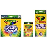 Crayola 返校核心包 - 3-5年级 84 months to 120 months 标准包装