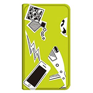 智能手机壳 手册式 对应全部机型 薄型印刷手册 cw-141top 套 手册 动画 极薄 轻量 UV印刷 壳WN-PR067788-MX AQUOS ZETA SH-04F 图案D